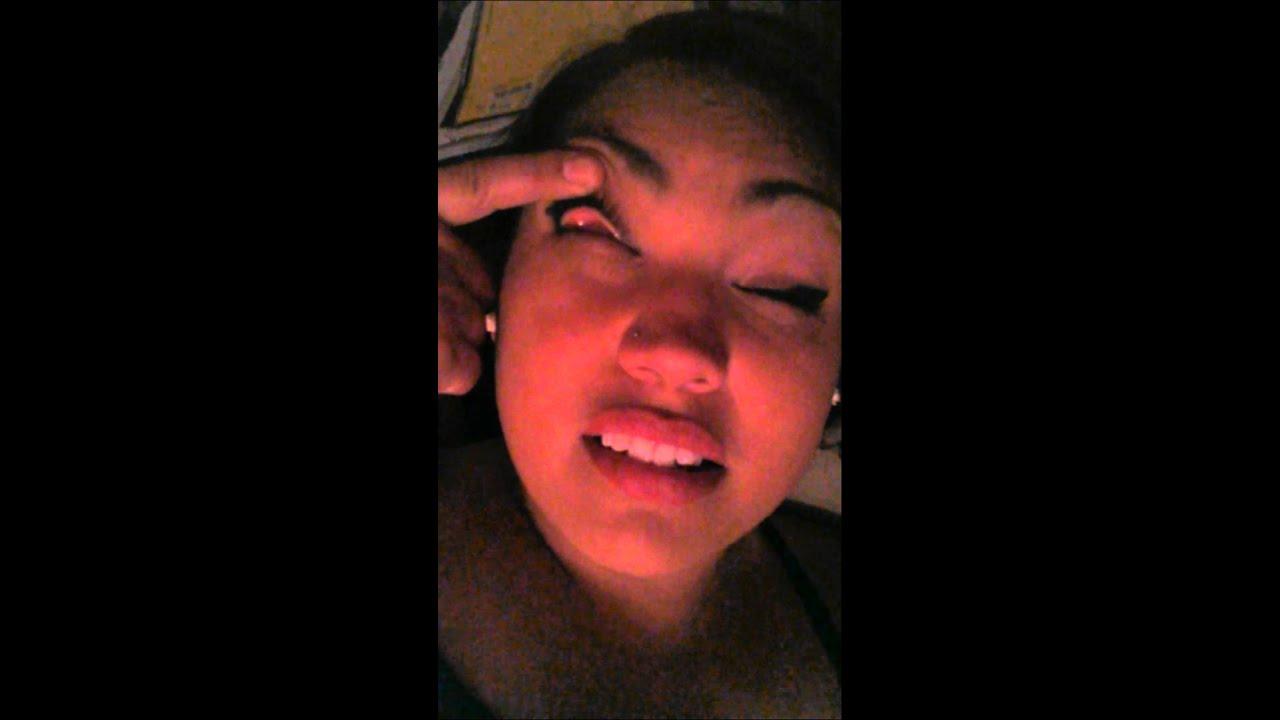 Youtube Eye Makeup Tutorial: Pulling My Eye Up N Flipping My Eye Lid