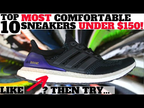 Top 10 MOST COMFORTABLE SNEAKERS UNDER $150! (Perfect for Summer!)
