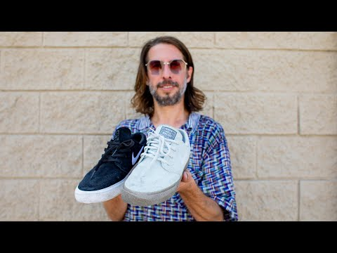 200 Kickflips With Stefan Janoski And Nike SB Flyleather: Recycled Leather VS Regular Suede