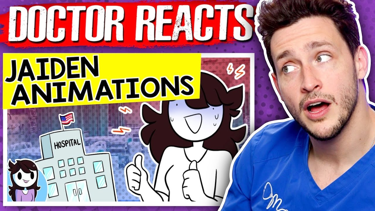 Doctor Reacts To Jaiden Animation's Health Scare