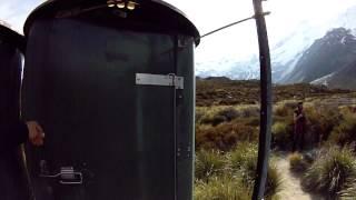 Toilet of Mount Cook - New Zealand