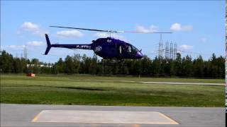 Bell 505 Jet Ranger X Flight Test Vehicle #3 First Flight