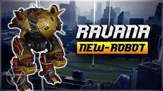 [WR] 🔥 New TANK Robot RAVANA Goes With The Speed Of LIGHT - War Robots