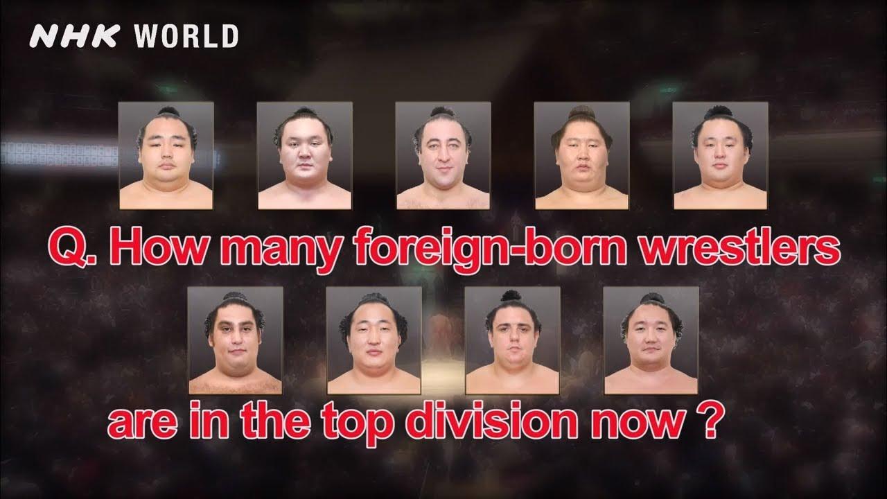 Photo of Foreign-born Wrestlers [外国人力士] – SUMOPEDIA – video