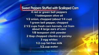 What's For Dinner: Sweet Peppers Stuffed With Scalloped Corn
