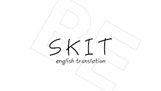 Gambar cover BTS - Skit [English Translation]