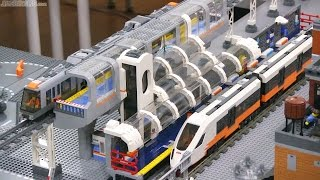 LEGO Train Station MOC update #6