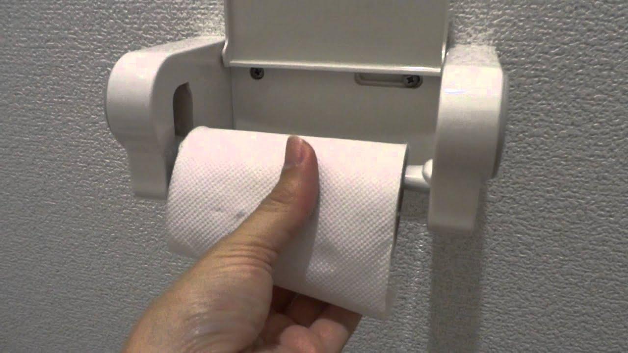 japanese toilet paper holder. Japanese toilet  tissue roll holder YouTube