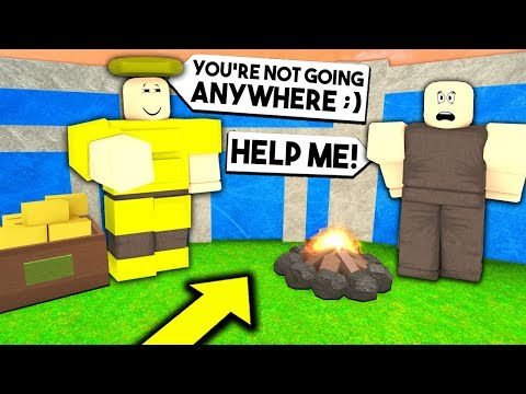 I Got CAPTURED By MY STALKER.. What I Did WILL SHOCK YOU! (Roblox Booga Booga)