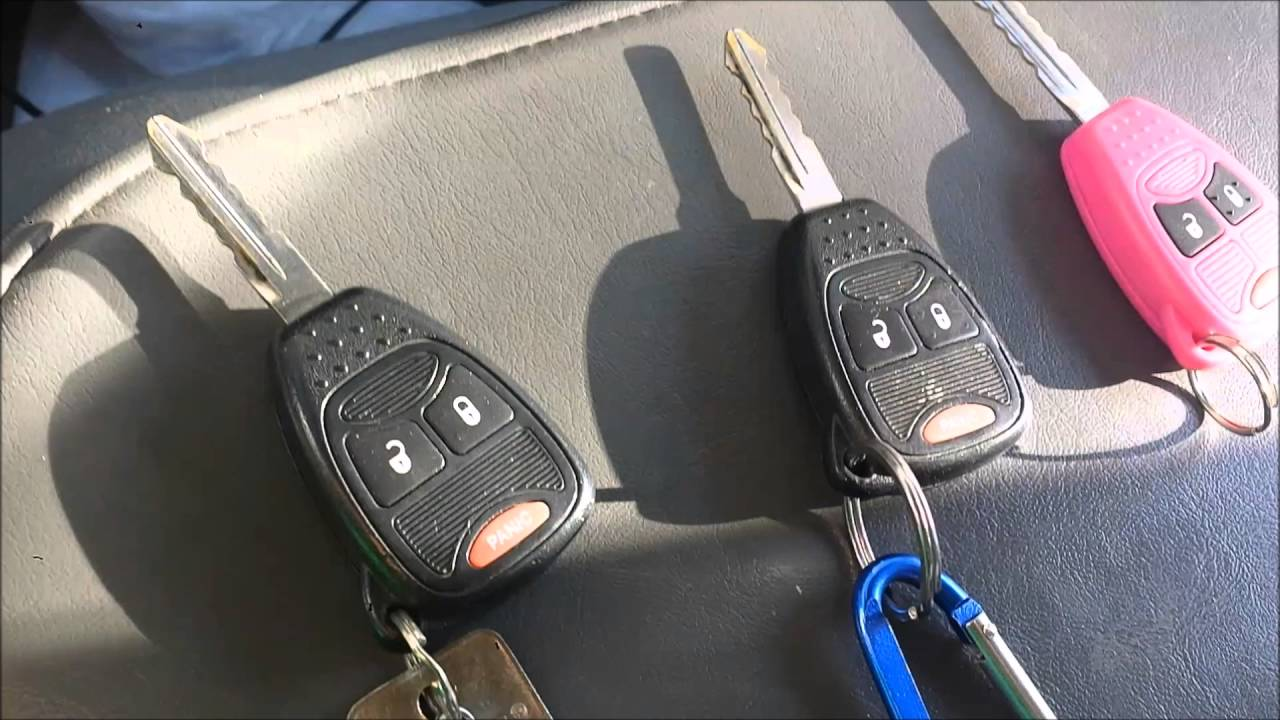 How To Program Your 2007 Dodge Ram 1500 Keys Youtube