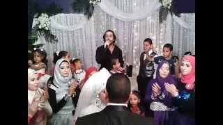 شريف مكاوي بطل فيلم كاريوكي يحيي حفل زفاف بالسويس