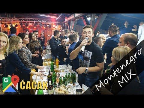 UROS ZIVKOVIC, KOSMAJAC & BORKO RADIVOJEVIC -MONTENEGRO MIX - Zabava kod Luke Rajicica - CACAK 2018