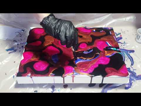 How to Resin Art Pouring Away the Ugly