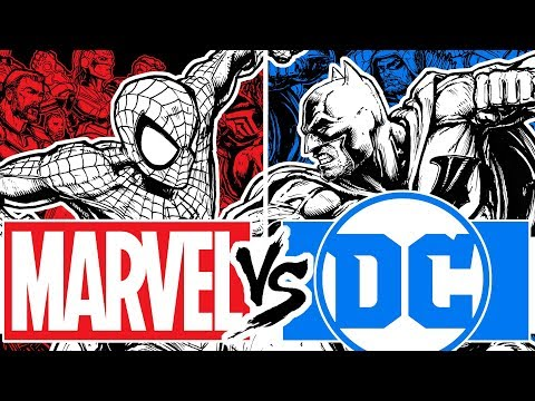 DRAWING THE ULTIMATE MARVEL VS DC PIECE!! THE BOX OFFICE BRAWL FINALE!