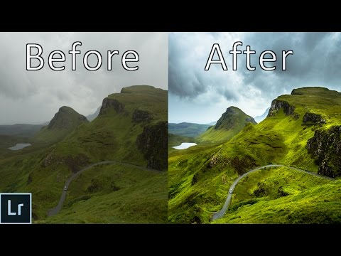 Landscape Photography Editing - Lightroom 6 Tutorial In Depth Explained - From Start to Finish!