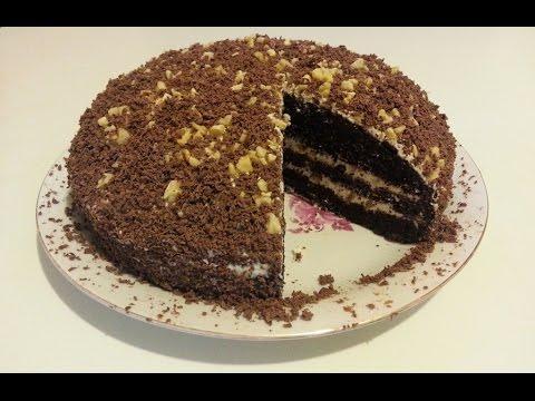 Вкуснейший торт Черный принц рецепт, который сразит