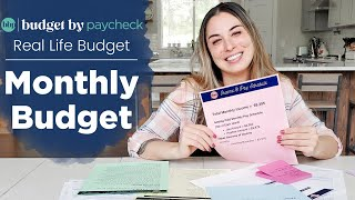 BBP Real Life Budgets - Monthly paycheck budget + tips