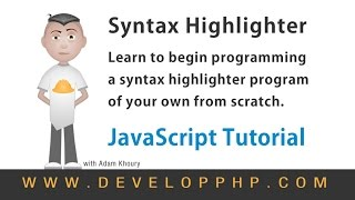 How to Program Code Syntax Highlighter Using JavaScript