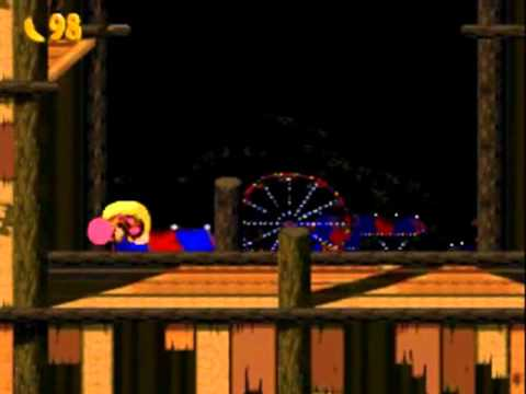 Misc Computer Games - Donkey Kong Country 2 - Disco Train
