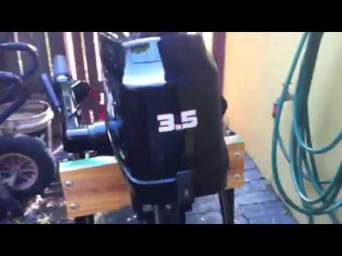 Hyfong 3.5hp Chinese Outboard Motor Purchased on ebay in Australia $459 only 17Kgs / 37.5Ibs