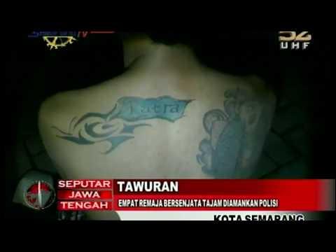 Tawuran, Empat Remaja Bersenjata Tajam Diamankan Polisi Mp3