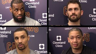 Cavs 'prepared' and 'confident' vs. Pacers in 2018 NBA Playoffs