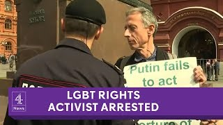 World Cup kicks off with LGBT rights activist's arrest and jailed opposition leader