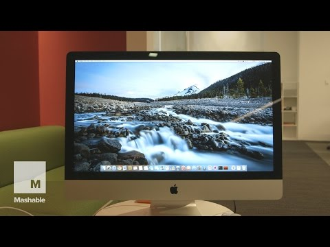 Review of the new 27-inch iMac with Retina 5K Display| Mashable