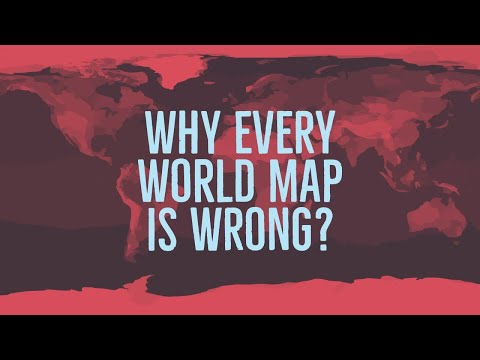 How the World Map is Horribly Wrong?
