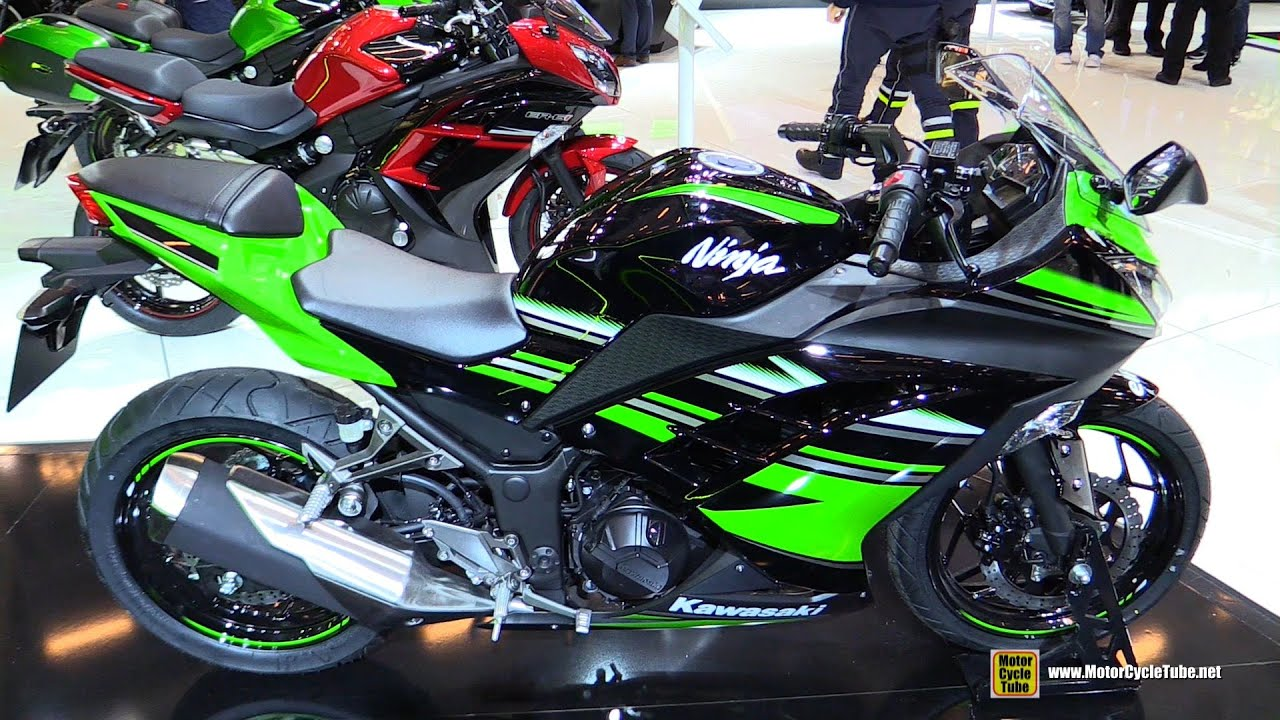 2016 kawasaki ninja 300 abs - walkaround - 2015 salon de la moto