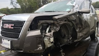 2012-gmc-terrain-a-pillar-and-cowl-repair-time-lapse-video-before-and-after