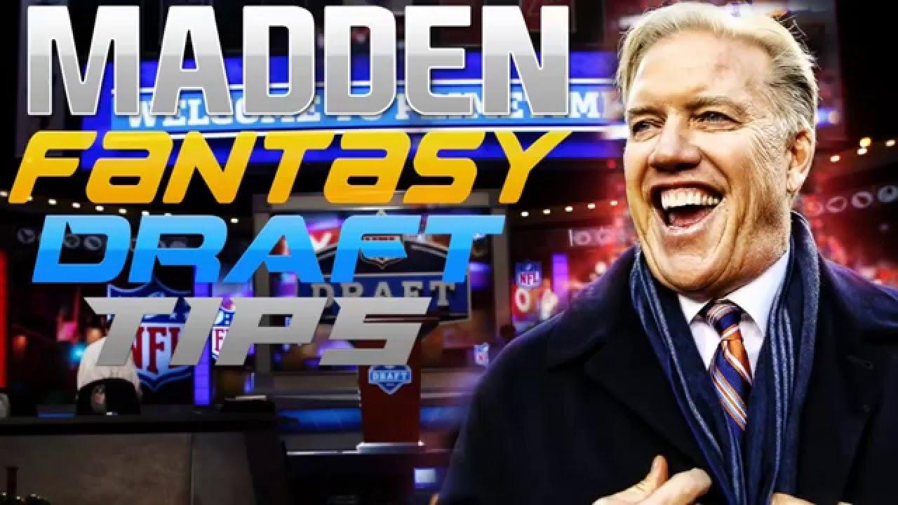 Madden NFL Fantasy Draft Tips & Strategies - Sports Gamers