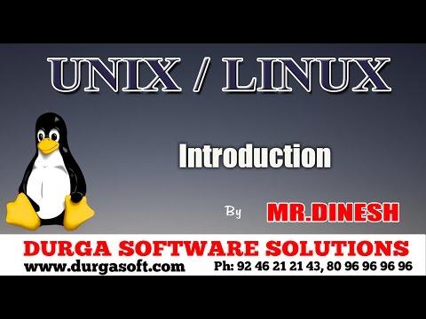 Unix/Linux-Introduction