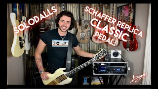 Angus Young's Secret Ingredient! - The SoloDallas Schaffer Replica Classic Pedal!