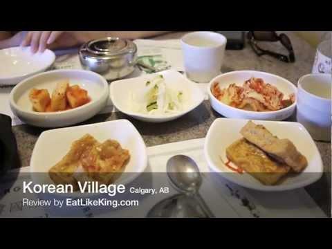 Korean Village Restaurant, Calgary - Review by EatLikeKing.com