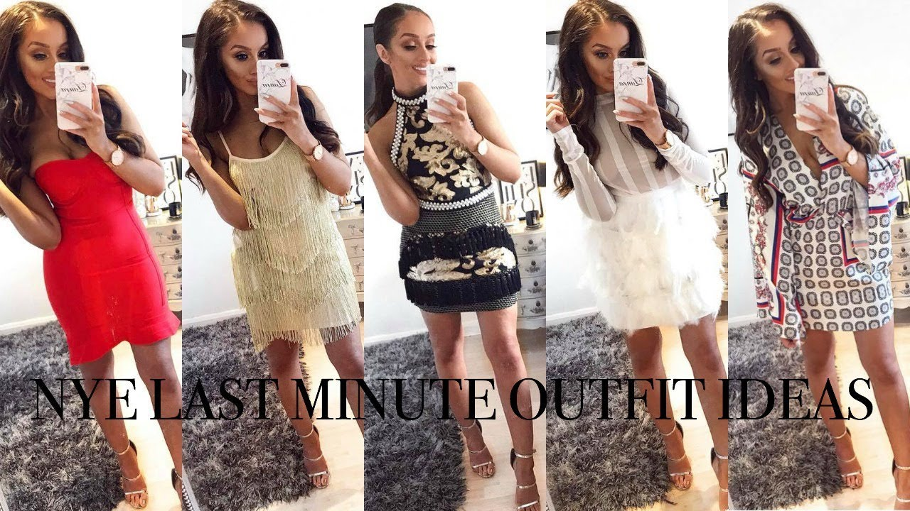 83f11f48a66c NYE LAST MINUTE OUTFIT IDEAS // Plt + Discount code! - YouTube