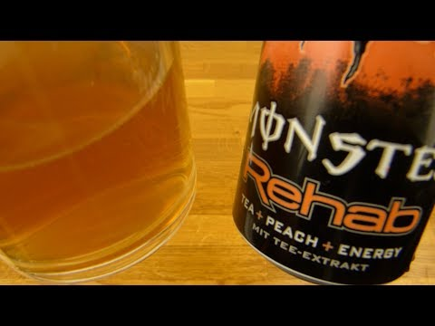Monster Rehab Tea + Peach + Energy