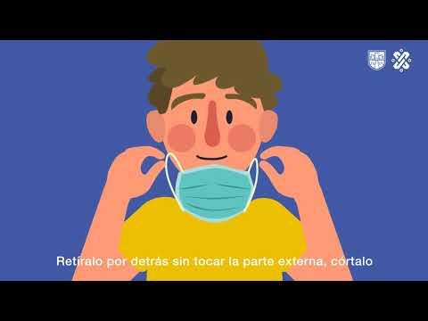 ¿Sabes cómo se usa el cubrebocas adecuadamente?