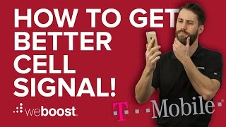 how to improve boost cell phone signal for t mobile   weboost