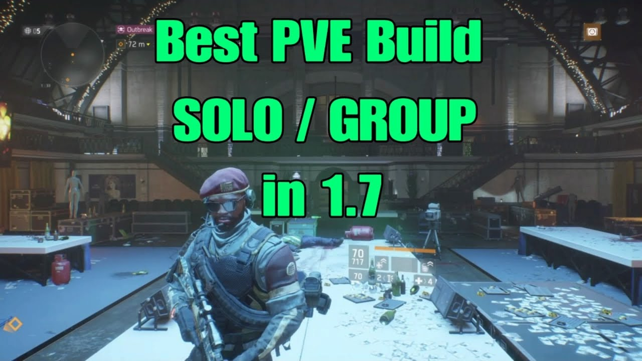The Division Best Pve Build In 1 7 1 100 Damage To Elites Youtube