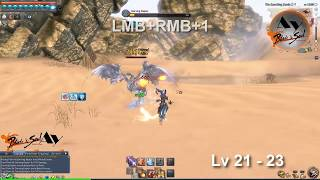 Blade and Soul Force Master Fast LVL UP and Combo