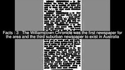 Williamstown Chronicle Top  #6 Facts