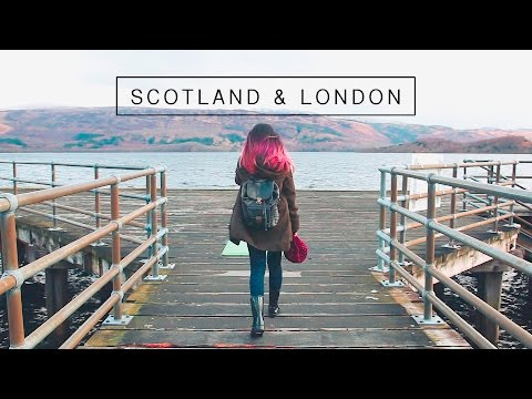 Travel Vlog | Scotland & London