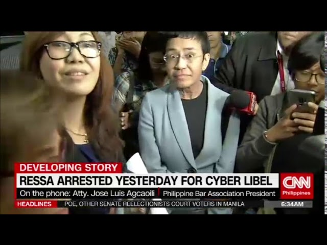 Ressa to post bail before Manila court
