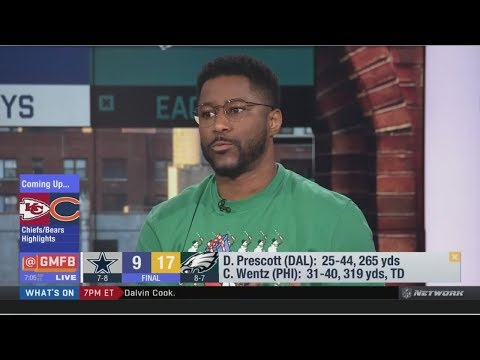 Nate Burleson IMPRESSIVE by Carson Wentz lead Eagles past Cowboys to take charge in NFC East
