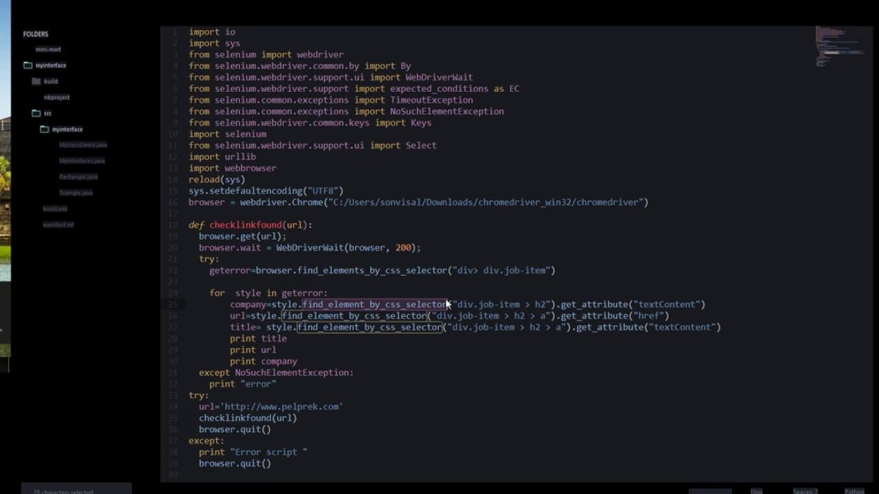 data extraction with python Selenium with Python — Selenium Python Bindings  2 documentation