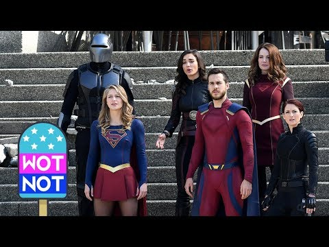 Melissa Benoist Films Supergirl Season 3 Finale with Superhero Help!