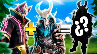 🔥FUSION OF FORTNITE SKINS #2🔥 RAGNAROK + DERIVA! Creating FORTNITE!😱 SKINS [Flopper]