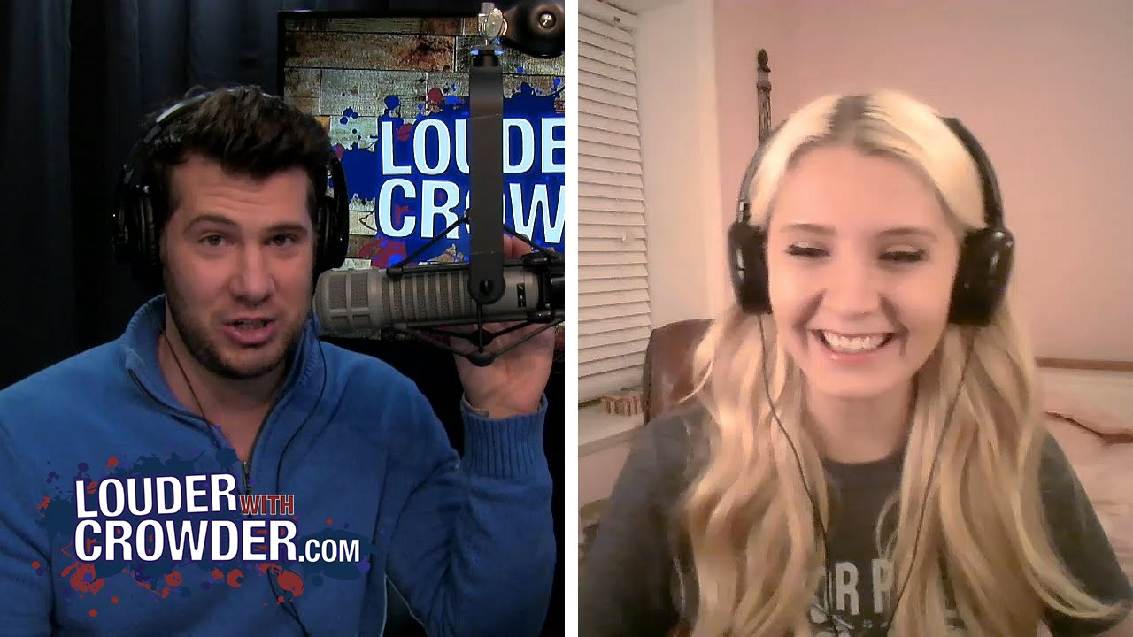 Lauren Southern Talks Boobs, Feminists and Immigration | Louder With Crowder