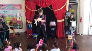 Gambar cover Singapore magician with LIVE animals for children parties and other kids events!